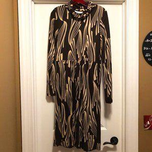 Vintage Eliza J Cowl Neck Dress